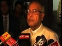 Pranab at his village to celebrate    Durga Puja
