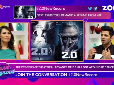 Pre-release theatrical advance of Akshay Kumar and Rajinikanth starrer '2.0' got around Rs 120 crore