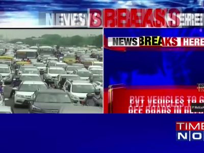 Private vehicles may soon go off the roads in Delhi