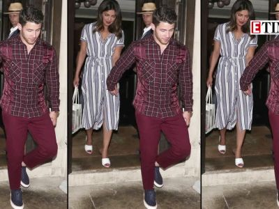 Priyanka Chopra and Nick Jonas snapped post dinner date in London