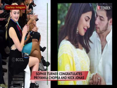 Priyanka Chopra's future sister-in-law Sophie Turner warmly welcomes her to Jonas family