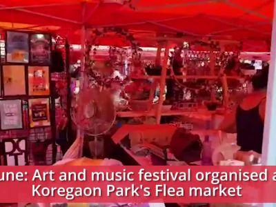 Pune: Art and music festival organised at Koregaon Park's Flea market