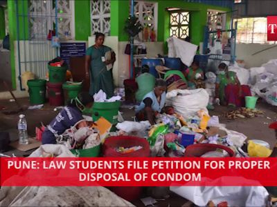 Pune: For proper disposal of condoms, law students file petition
