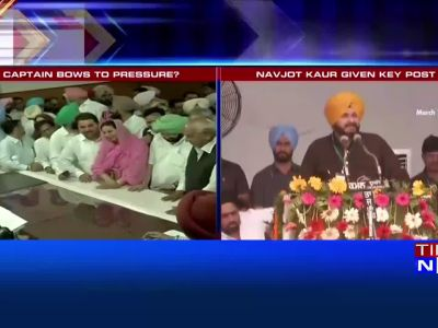Punjab CM bows to pressure, gives key post to Navjot Singh Sidhu's wife