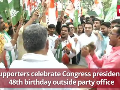 Rahul Gandhi turns 48, PM extends greetings