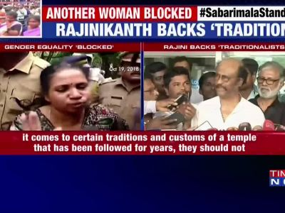 Rajinikanth speaks up on the Sabarimala temple case