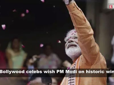Rajinikanth to Varun Dhawan, Bollywood celebs congratulate PM Modi on landslide victory in Lok Sabha elections 2019