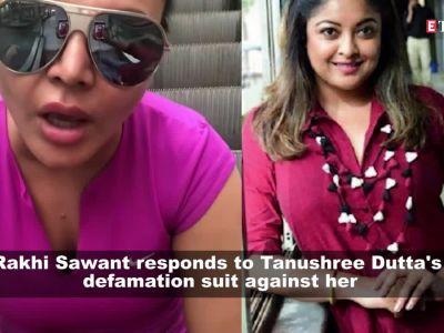 Rakhi Sawant hits back at Tanushree Dutta, says she will file defamation suit of Rs. 50 crore