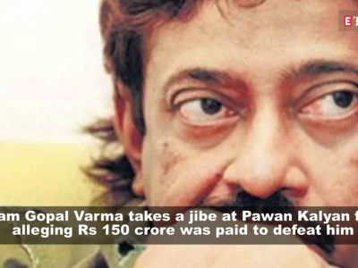 Ram Gopal Varma slams Pawan Kalyan for alleging Rs 150 crore was paid to defeat him