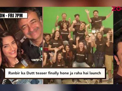 Ranbir Kapoor's Dutt biopic teaser to release soon