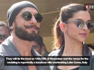 Ranveer Singh and Deepika Padukone wedding: Guest list for the wedding revealed!