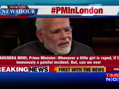 Rape cases: PM Modi breaks silence in London, says don't politicise such issues