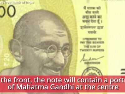 RBI to issue new Rs 20 note, will come in 'greenish-yellow' colour
