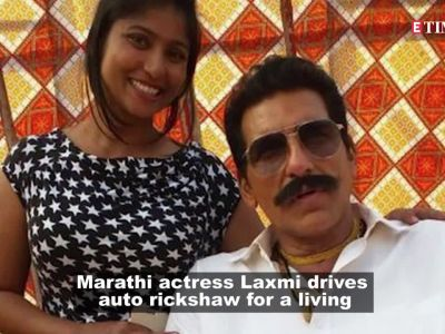 Reel to real life hero: This actress drives auto rickshaw for a living