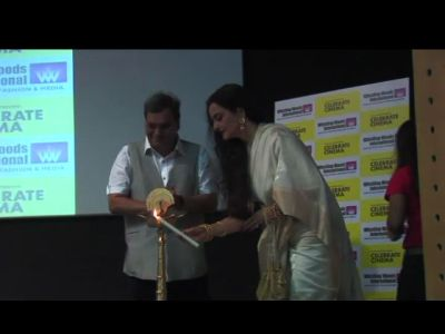 Rekha's day out with Subhash Ghai
