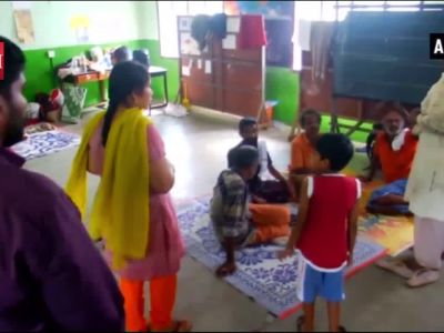 Relief camp turned into mini hospital in North Paravur by social worker