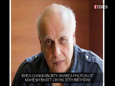 Rhea Chakraborty posts pics with Mahesh Bhatt, trolls compare them with Anup Jalota and Jasleen Matharu