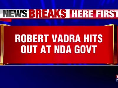 Robert Vadra slams NDA govt over fuel price hike