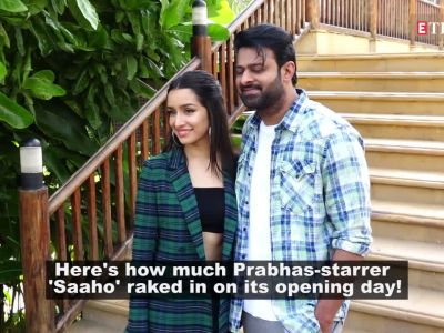 'Saaho' box office collection Day 1: Prabhas, Shraddha Kapoor-starrer rakes in Rs 24 crore