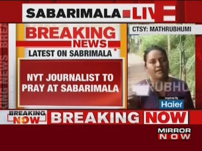 Sabarimala row: NYT journalist Suhasini Raj forced to return