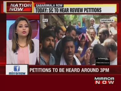 Sabarimala row: SC to hear review petitions on November 13