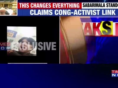 Sabarimala Temple issue: Activist Trupti Desai still stuck at Kochi Airport
