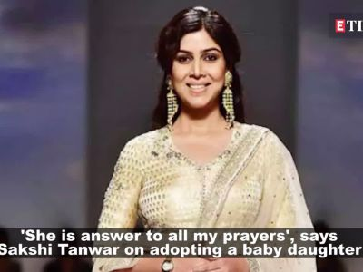 Sakshi Tanwar welcomes a baby girl, names her Dityaa