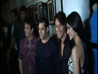 Salman, Aamir attend 'Heropanti' success party