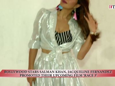 Salman Khan and Jacqueline Fernandez promote 'Race 3'
