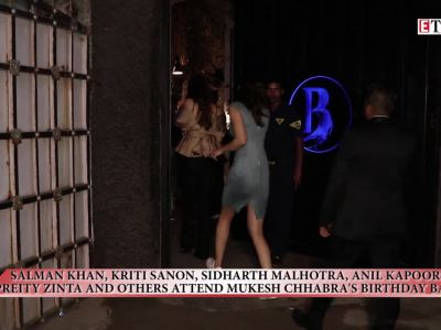 Salman Khan, Kriti Sanon, Preity Zinta and others attend Mukesh Chhabra's birthday bash