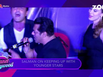 Salman Khan on keeping up with younger stars