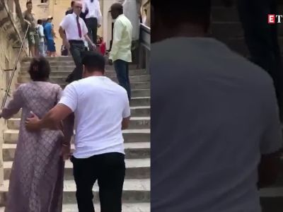 Salman Khan shares another video with mother Salma from Malta