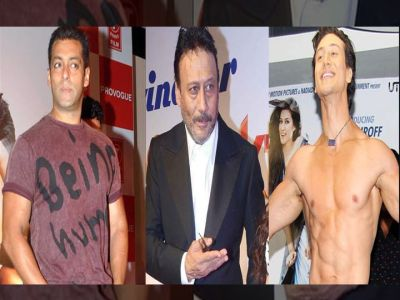 Salman takes a dig at Jackie and his son Tiger