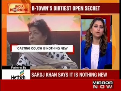 Saroj Khan defends casting couch: It provides livelihood at least, doesn't rape and leave you