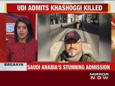 Saudi Arabia admits Khashoggi was killed inside consulate in Istanbul