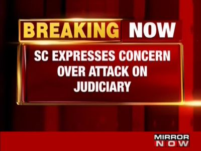 SC 'disturbed' at opposition parties comments about judiciary