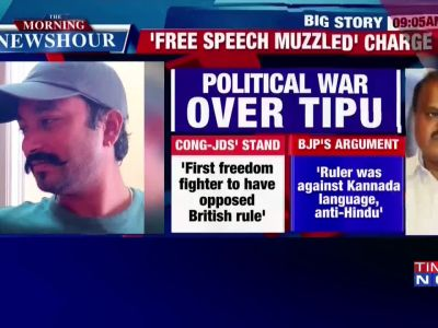 Scribe arrested in Bengaluru for speaking against Tipu Jayanti