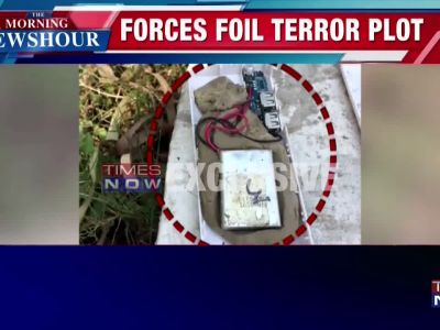 Security forces foil terror plot in Jammu and Kashmir