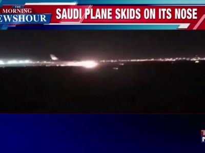 Several injured as Saudi jet makes emergency landing