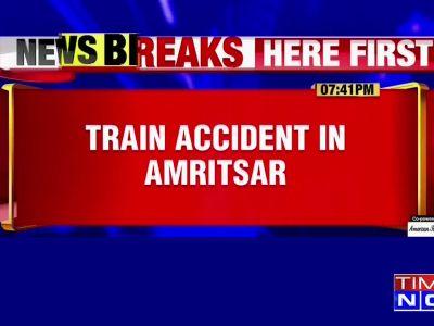 Several people feared dead in train mishap near Amritsar