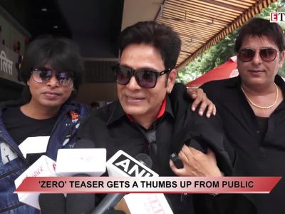 Shah Rukh Khan's 'Zero' teaser gets a thumbs up from public