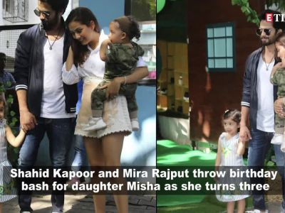 Shahid Kapoor and Mira Rajput's daughter Misha celebrates birthday with Abram and other star kids