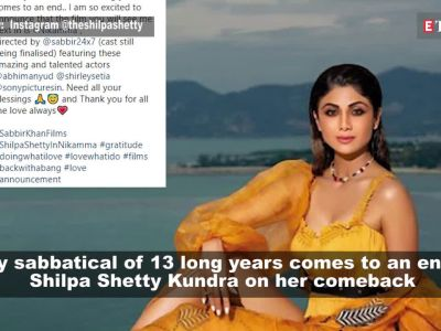 Shilpa Shetty Kundra to make Bollywood comeback after 13 years with 'Nikamma'