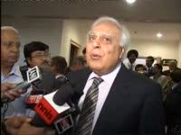 Sibal on need to pass crucial bills