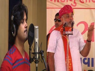 Singer Javed Ali sings for Narendra Modi