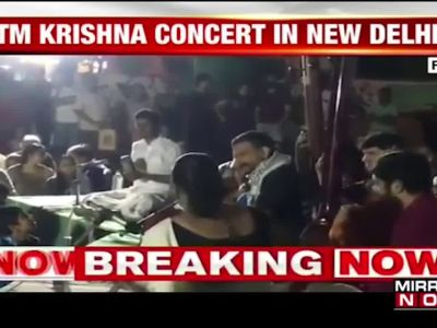 Singer TM Krishna's concert rescheduled to November 17 after cancellation