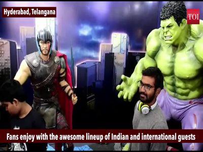 Sixth Edition of ComicCon hits Hyderabad
