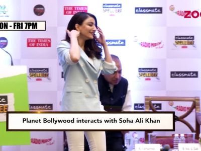 Soha Ali Khan worried about constant limelight on Taimur, Inaaya
