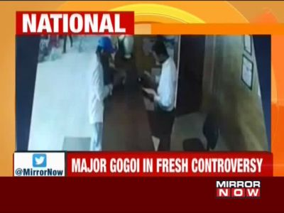 Srinagar: Major Leetul Gogoi detained with woman in hotel