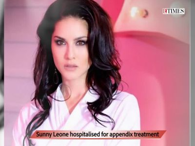Sunny Leone falls sick during shoot, rushed to hospital